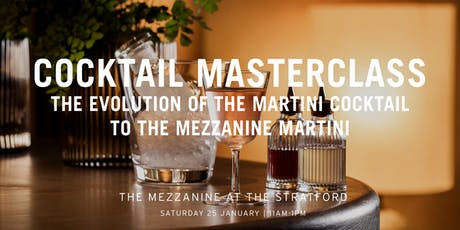 The Mezzanine Cocktail Masterclass with Enrico Gonzato: Martini Masterclass tickets