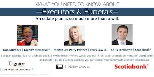 What you need to know about Executors and Funerals