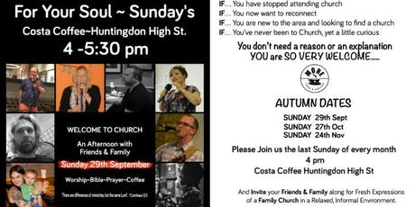 More Than a Coffee for Your Soul Sundays tickets