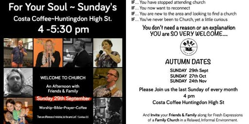 More Than a Coffee for Your Soul Sundays