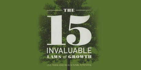 Lunch & Learn 4 Part Series - 15 Laws of Invaluable Growth tickets