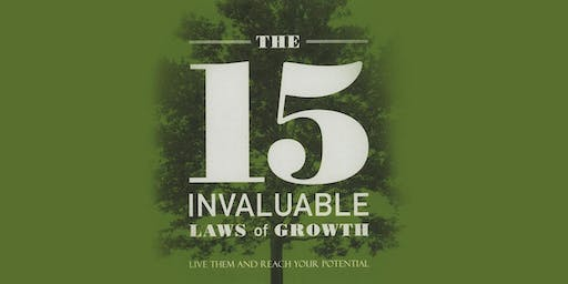 Lunch & Learn 4 Part Series - 15 Laws of Invaluable Growth
