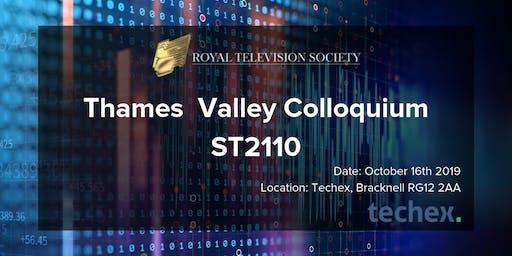 Thames Valley Colloquium - ST2110