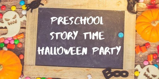 Preschool Story Time Halloween Party