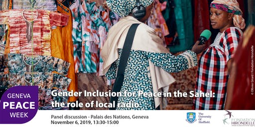 Gender Inclusion for Peace in the Sahel: the role of local radio