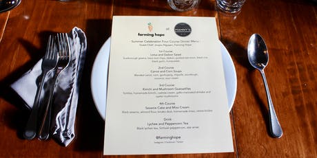 Farming Hope Fundraiser: New Menu Preview Party tickets
