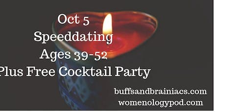 Chemistry Speed Dating Party Ages 39-52- NYC Singles tickets