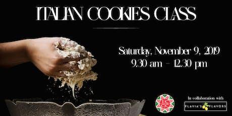 Italian Cookies Class tickets