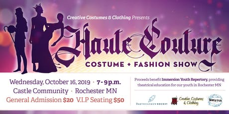 Haute Couture Costume + Fashion Show tickets