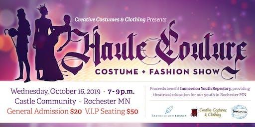 Haute Couture Costume + Fashion Show
