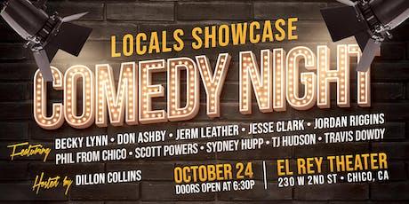 Comedy Night! - Locals Showcase tickets