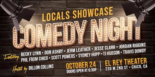 Comedy Night! - Locals Showcase