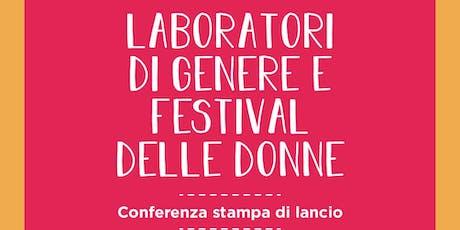 Conferenza Festival delle Donne e Laboratori di Genere - Rieti biglietti