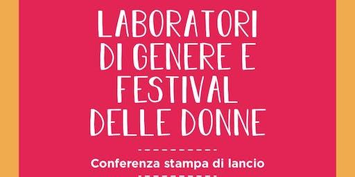 Conferenza Festival delle Donne e Laboratori di Genere - Rieti