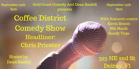 Coffee District Comedy Show tickets