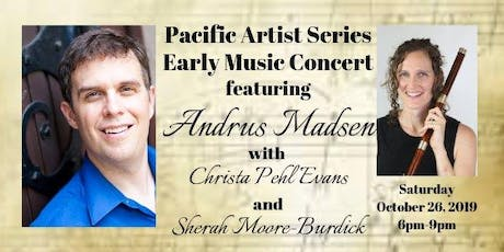 Pacific Artist Series Concert II: Sara Levy lecture, and concert tickets