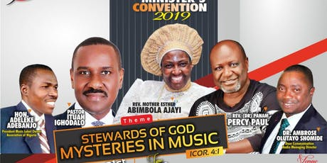GOSPEL MUSIC MINISTER CONVENTION 2019 tickets