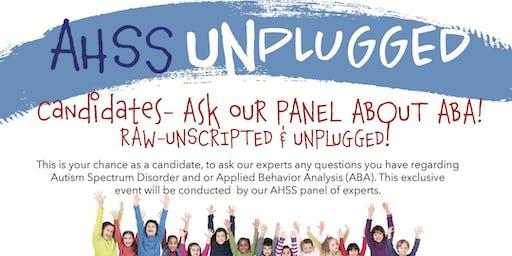 AHSS Unplugged
