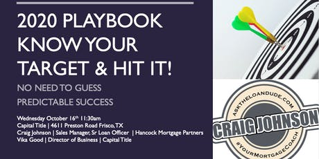 2020 Playbook | Know Your Target & Hit It tickets