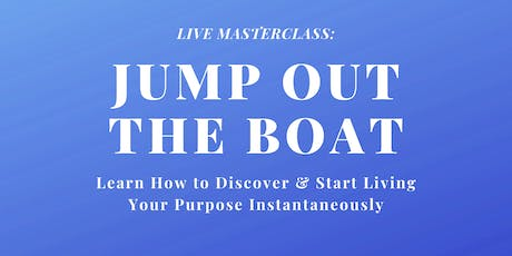 Jump Out The Boat Seminar tickets