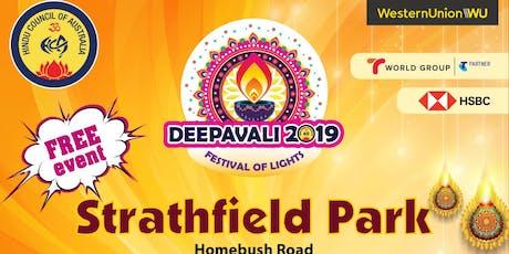 Deepavali Event 2019 @Strathfield Park tickets