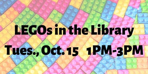 LEGOs in the Library (Grades K & up)