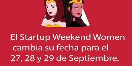 Techstars Startup Weekend Bogotá Women entradas