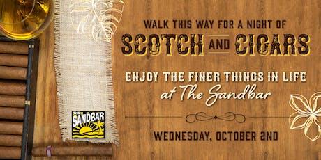 Scotch & Cigar Pairing at The Sandbar tickets
