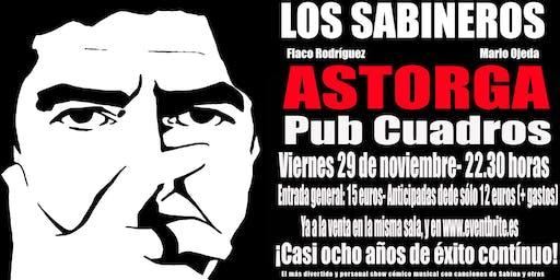 Los Sabineros regresan a Astorga, Pub Cuadros!