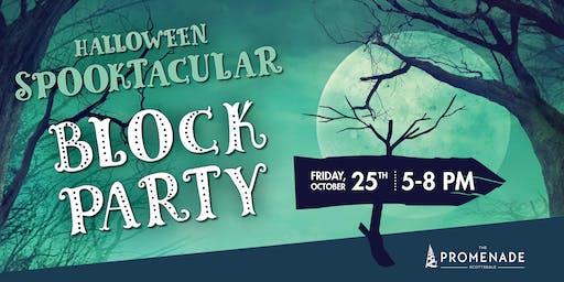 Halloween Spooktacular Block Party