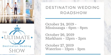 Destination Wedding Pop-Up Roadshow tickets