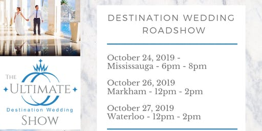 Destination Wedding Pop-Up Roadshow
