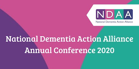 National Dementia Action Alliance Annual Conference 2020 tickets