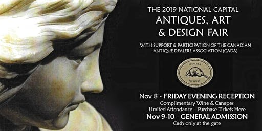 2019 National Capital Antiques, Art & Design Fair - Friday Night Reception