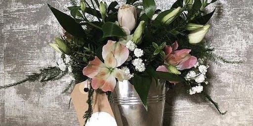 Hobby Flower Arrangement - Alstroemerias Spell