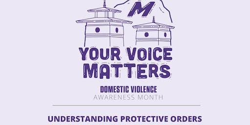 Understanding Protective Orders