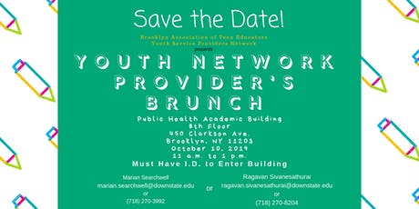 Youth Service Provider's Network Brunch tickets