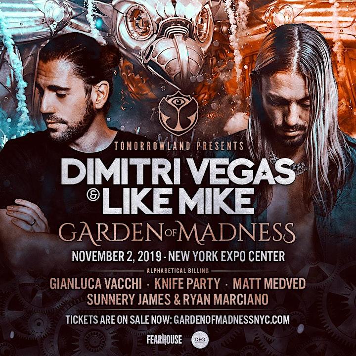 Tomorrowland Presents: Dimitri Vegas & Like Mike - Garden of Madness image