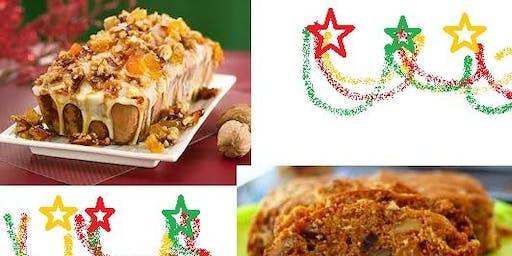 11/11 Natal sem Glúten: Bolos, Biscoitos e Pão de Mel - sem lactose e sem glúten - 19h as 22:30 R$ 215,00