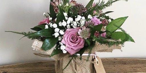 Hobby Flower Arrangement - Sweet Rose