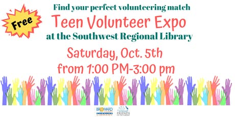Free Teen Volunteer Expo at the Southwest Regional Library tickets