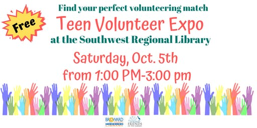Free Teen Volunteer Expo at the Southwest Regional Library