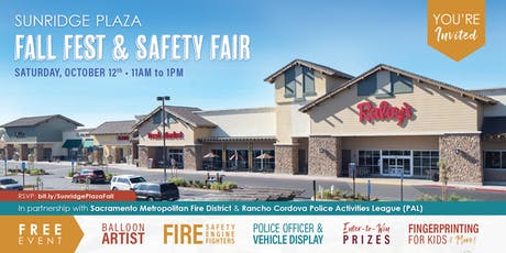 Fall Fest & Safety Fair at Sunridge Plaza tickets
