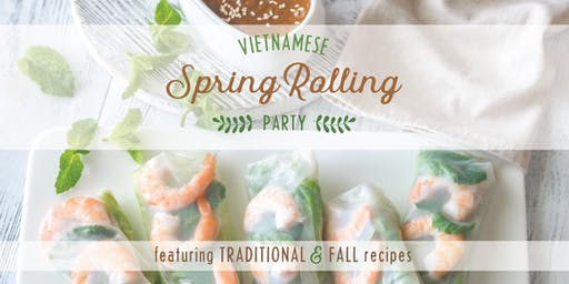 Spring Rolling Party w/ Signature Cocktail + Asian Beer Tasting