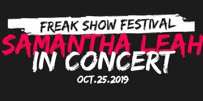 Samantha Leah's Freak Show Festival