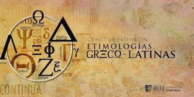 Curso de Etimologías Greco-latinas- Universidad Ruiz de Montoya