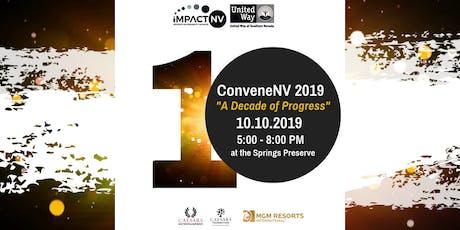 "ConveneNV 2019 ""A Decade of Progress"" tickets"