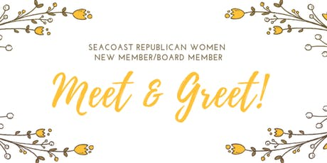 NHSRW Meet and Greet with New Members/Board Members tickets