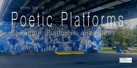 Poetic Platforms: People, Platforms, and Poetry tickets
