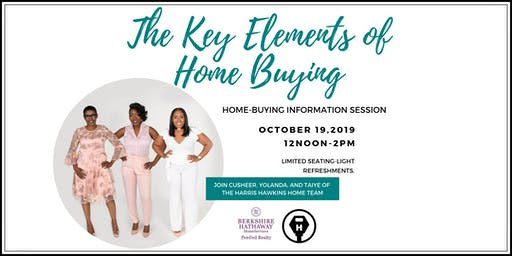 The Key Elements to Home Buying Information Session